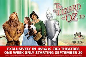 Wizard of Oz 3D courtesy of Warner Bros