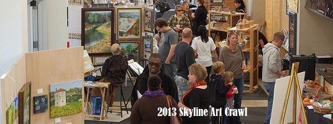Skyline art crawl