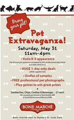 Bone Marche May 31 Pet Extravaganza