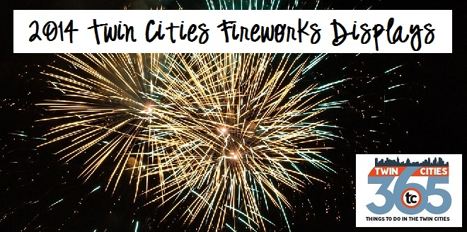 2014 Twin Cities Fireworks Displays