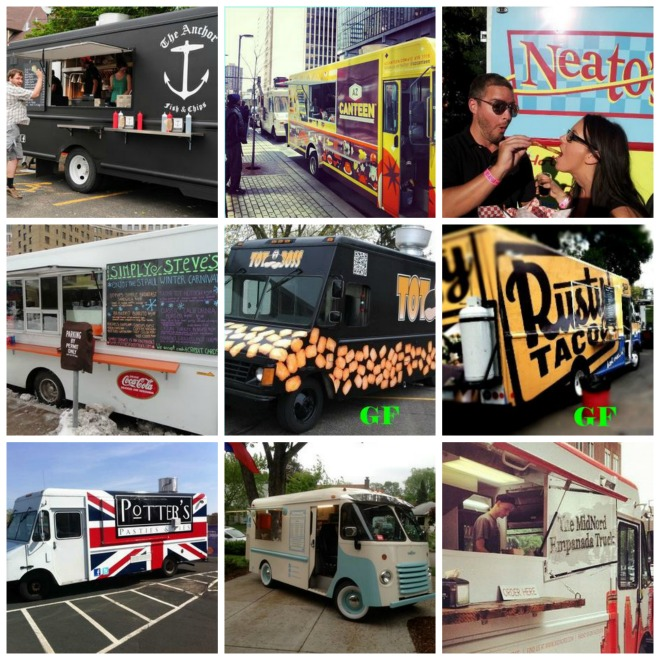 MN Food Truck Fair 2014 - Collage